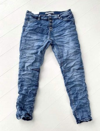 Reunion Baggy-B Jeans Summerwash blue