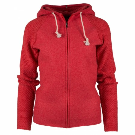 Amundsen Boiled hoodie jacket weathered red