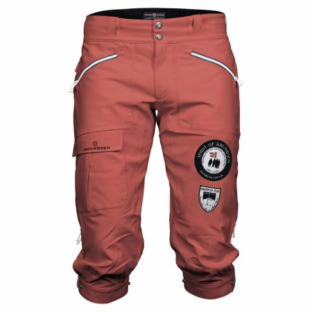 Amundsen Peak Knickerbockers Woman Weathered red