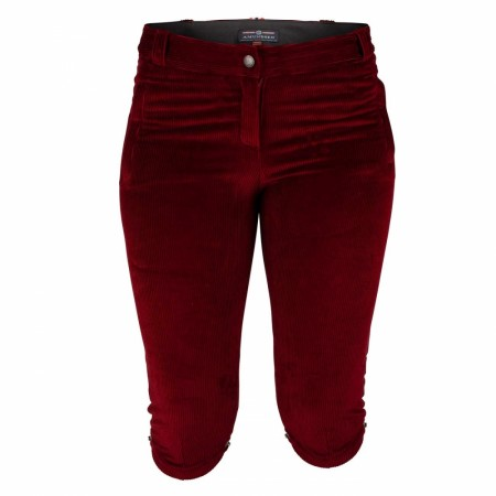 Amundsen Concord Slim Knickerbockers Ruby red