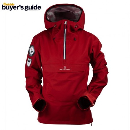 Amundsen Peak Anorak Ruby red