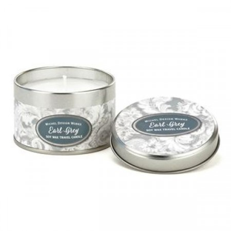 Michel Design Works Earl Grey Tin Travel Candle